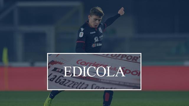 Edicola: il Milan irrompe su Barella, il Napoli sogna Icardi, Neymar divorzia dal PSG