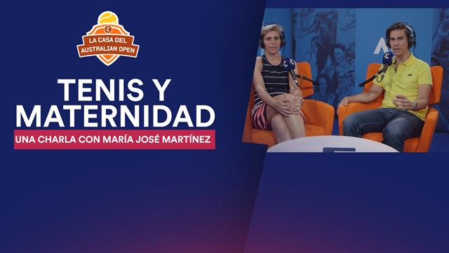 La Casa del Open de Australia: Tenis y maternidad, interesante charla con María José Martínez