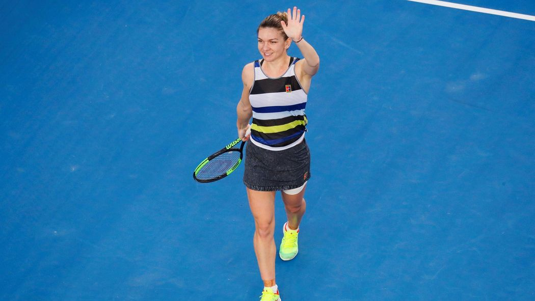 Tennis News Simona Halep Sets Up Fourth Round Against Serena After