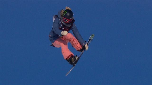 Brilliant Chloe Kim is the 'definition of class and style' in winning run