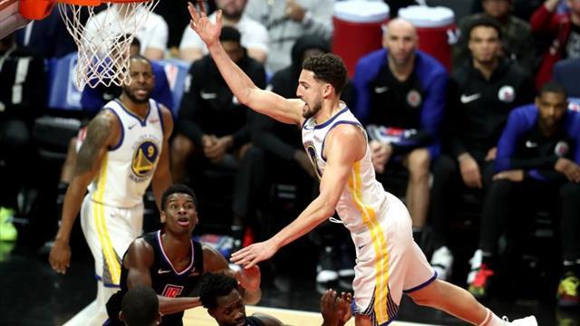 Los Warriors presentan el quinteto All-Star; los Jazz vuelven a ganar