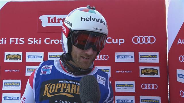 Alex Piva interview after Ski Cross victory