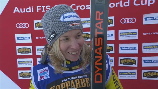 Heidi Zacher - 'Last year I got injured here, so to come back with a win... I'm so happy!'