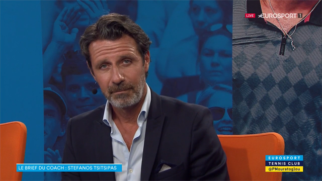 """Le brief du coach : """"Stefanos, oublie le respect que tu as pour Federer"""""""