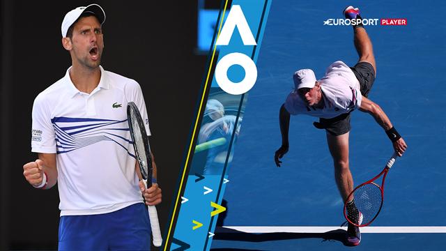 Highlights: Djokovic tromler videre i Australian Open