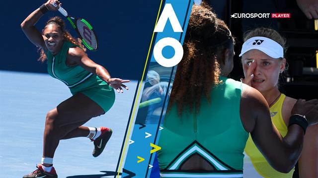 Highlights: Serena Williams i storform smadrer Yastremska