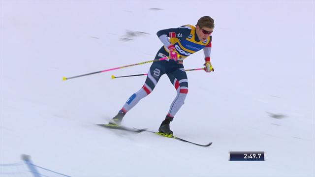 Klaebo wins in Otepää to extend lead at top of Cross Country World Cup standings