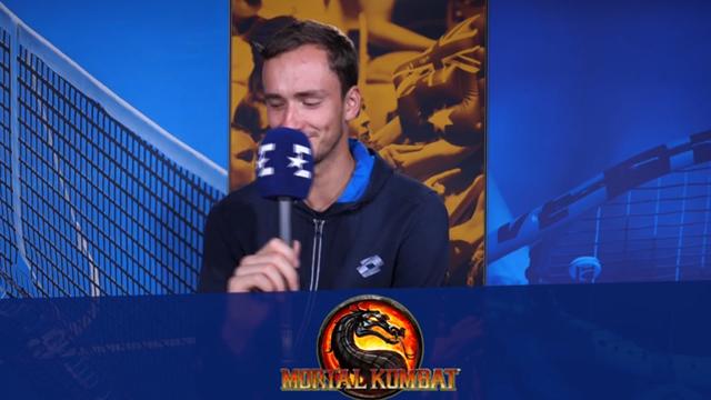 «Скорпион дерется на льду и идет к финишу?» Медведев не узнал Mortal Kombat