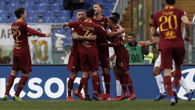 El Roma gana 3-2 al Torino y toca la zona Liga de Campeones