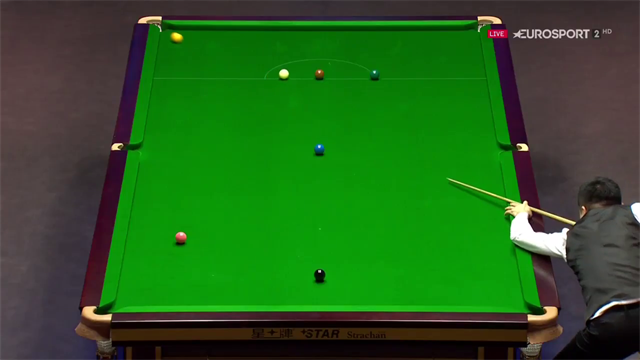 Ding flukes outrageous yellow in 147 bid