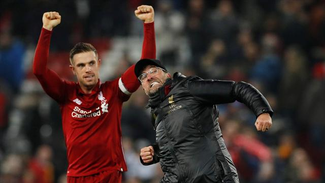 Liverpool seal nervy win in seven-goal thriller against Palace