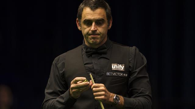 O'Sullivan's World Grand Prix title defence ends with first-round defeat to Fu