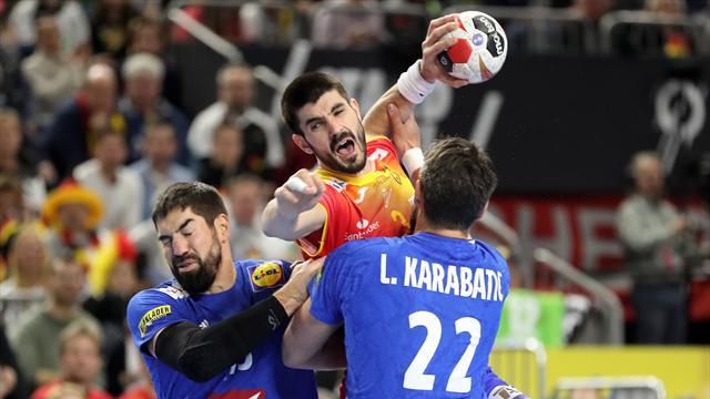 Mundial de balonmano, Francia-España: Derrota dolorosa que aleja a los Hispanos de semis (33-30)
