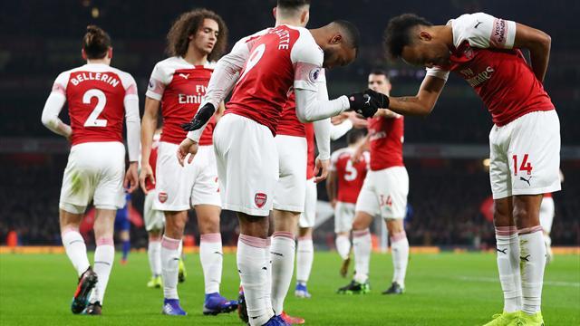Arsenal remercie ses Français