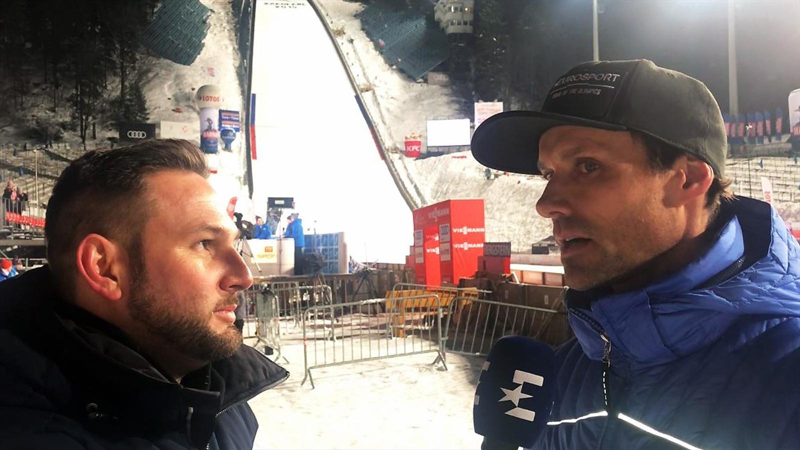 Video Zakopane 2019 Sven Hannawald Analysiert Den Siegel Sturz