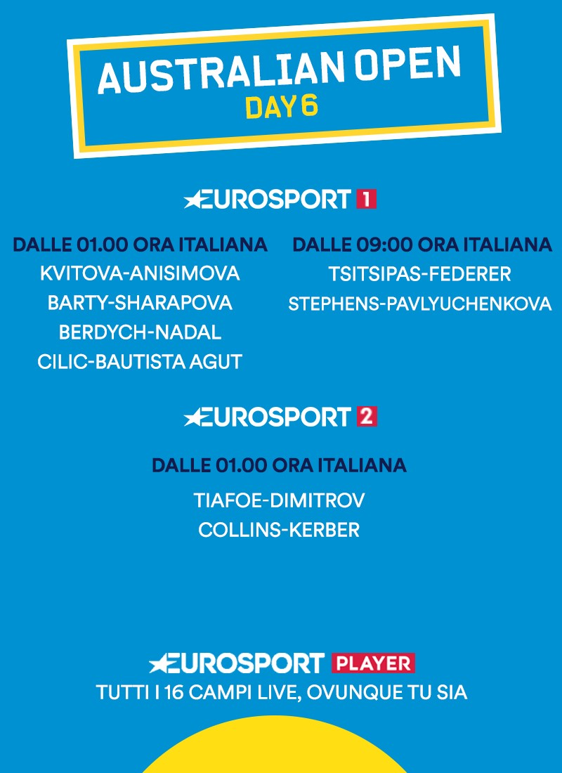 Order of Play 6
