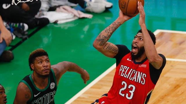 Los Pelicans pierden por 15 días a Davis por torcedura de un dedo