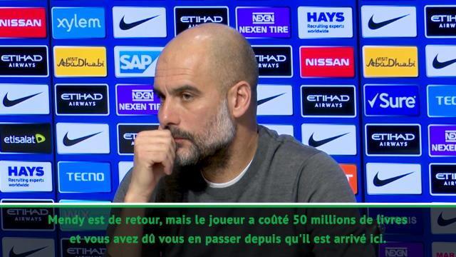 23e j. - Guardiola réflechit à prendre une doublure pour Mendy