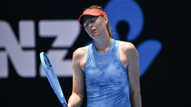 Sharapova pulls out of Indian Wells with shoulder injury