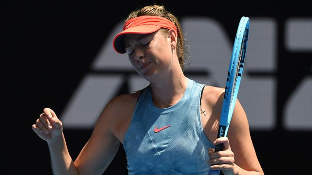 Maria Sharapova est éliminée, Petra Kvitova avance — Internationaux d'Australie