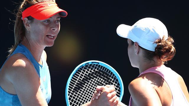 Maria Sharapova quizzed over 7 MINUTE loo break at Australian Open