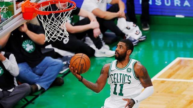 105-113. Ante los Hawks, Irving y los Celtics siguen sumando victorias