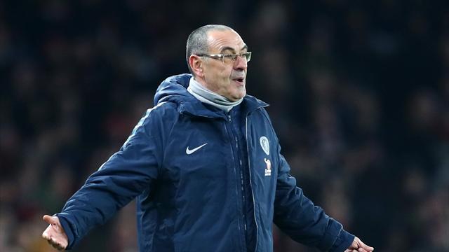 «Им не стоит играть на таком уровне». Сарри изничтожил своих игроков после поражения от «Арсенала»