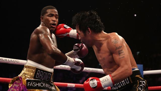 Пакьяо победил Бронера и защитил титул чемпиона мира по версии WBA
