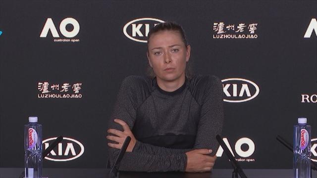 Maria Sharapova press conference in full
