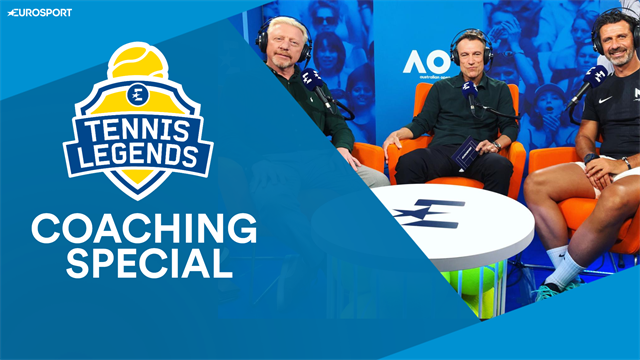 The Tennis Legends Podcast - A coaching special with Becker, Mouratoglou and Wilander
