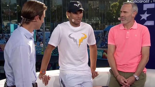"""Rafa Nadal, en Eurosport, sobre su evolución en saque y juego: """"No puedes ir en contra del tenis"""""""