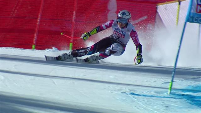 Watch Weirather's impressive run in Cortina d'Ampezzo