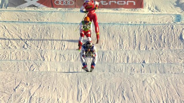 Watch the men's Ski Cross final in Idre Fjall
