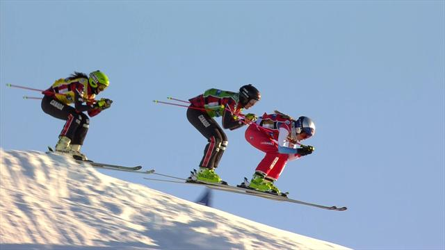 Watch the women's Ski Cross final in Idre Fjall