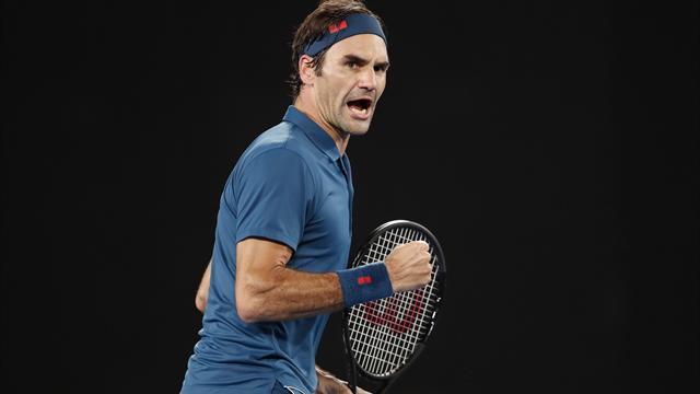 L'ultima firma di Roger Federer a Melbourne: 6 splendidi rovesci contro Tsitsipas