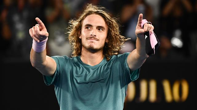 Stefanos Tsitsipas reaches Australian Open semis with win over Roberto Bautista Agut