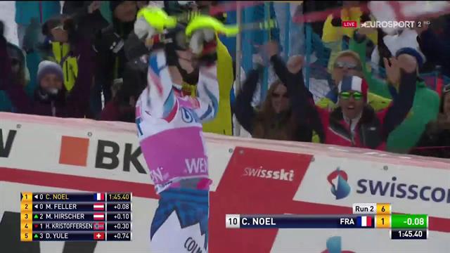 La prima volta di Clement Noel: il francese vince lo slalom di Wengen