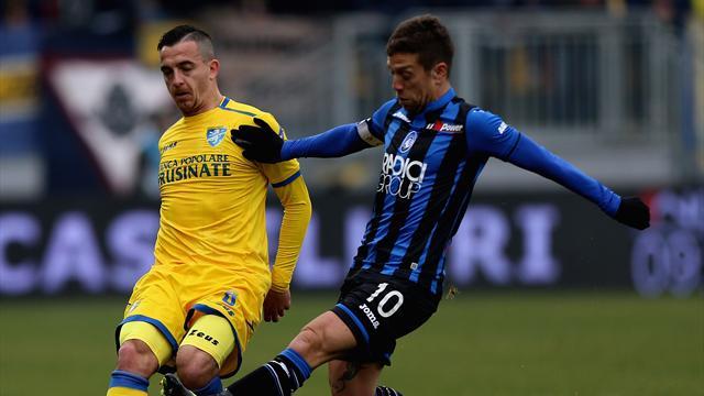 Le pagelle di Frosinone-Atalanta 0-5: Zapata mattatore, Mancini straordinario. Disastro Campbell