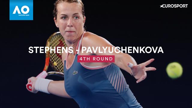 Highlights: No 5 seed Stephens stunned by Pavlyuchenkova