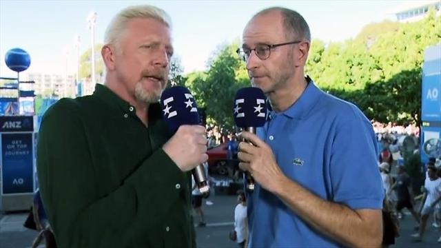 "Becker: ""Tsitsipas ist nach Zverev der Beste der Young Guns"""