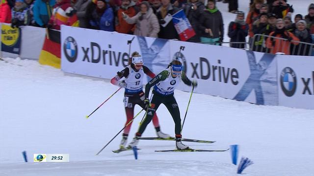 Highlights: Preuss clinches maiden win in Ruhpolding