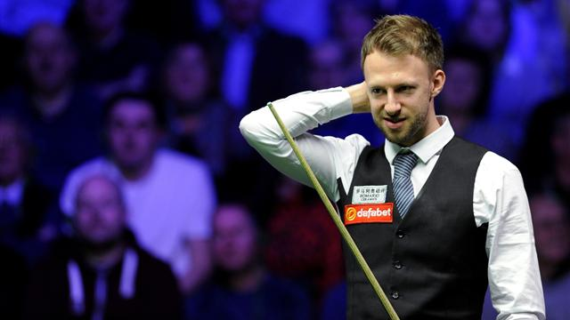 Trump wins titanic struggle with Hawkins to reach Grand Prix final