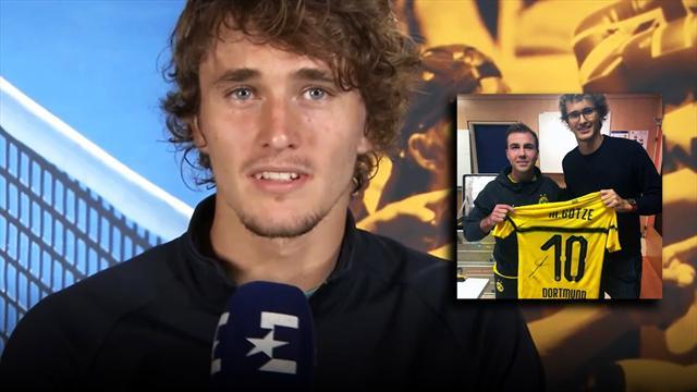 Zverev im Instagram-Interview: Das verbindet ihn mit Mario Götze