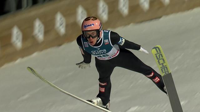 El austriaco Stefan Kraft vuela en Zakopane y emerge como rival de Kobayashi