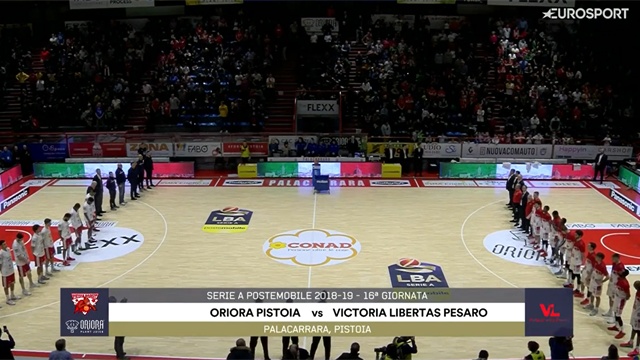 Highlights: Oriora Pistoia-VL Pesaro 77-81