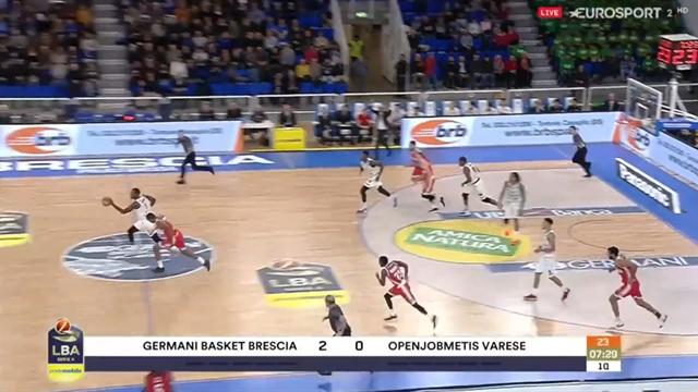 Highlights: Germani Brescia-Openjobmetis Varese 78-73