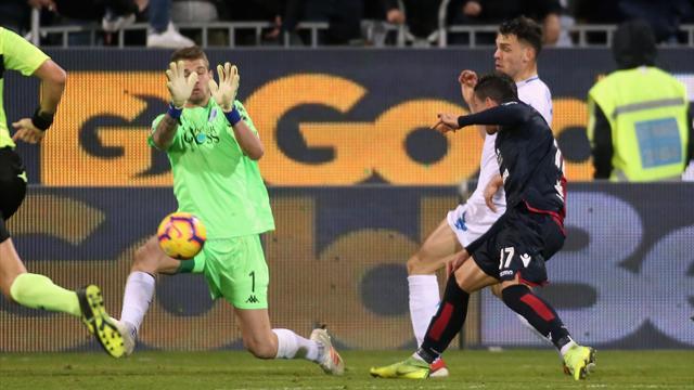 Farias salva il Cagliari al 91': 2-2 con l'Empoli dopo una partita batticuore