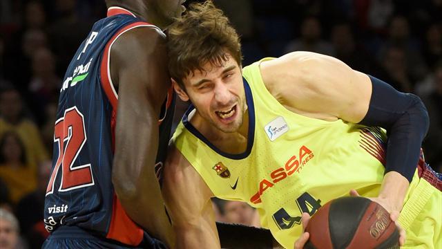 Liga ACB, Baskonia-Barcelona: Ejerciendo de líder (73-82)