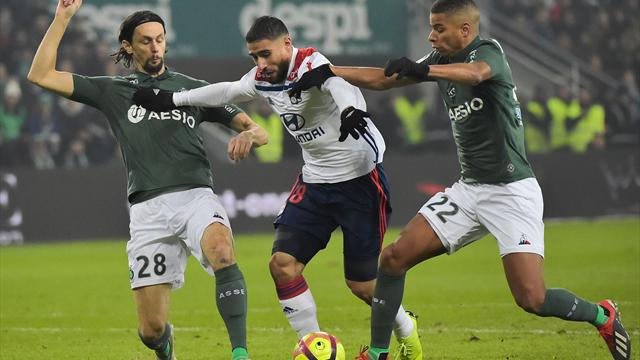 ⚽👀 Moussa Dembelé da al Lyon, rival del Barça en Champions, el derbi del Ródano (1-2)
