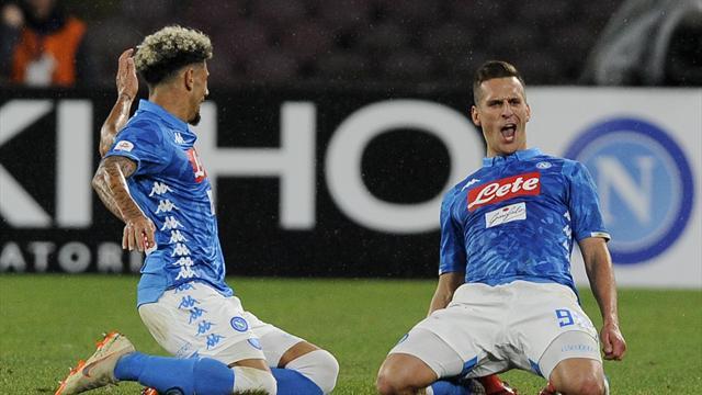 Le pagelle di Napoli-Lazio 2-1: Milik e Fabian Ruiz lussuosi, delusione Luis Alberto